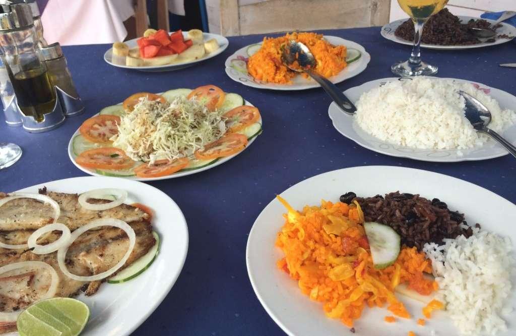 Cuban cuisine, something big…the nothing