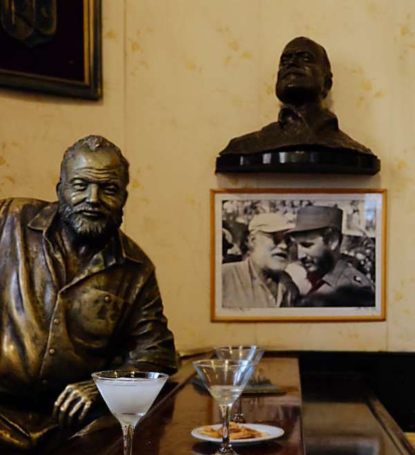 Ernest Hemingway. The old man and Cuba