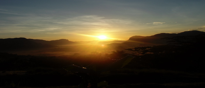 Sunrise in the Vinales Valley
