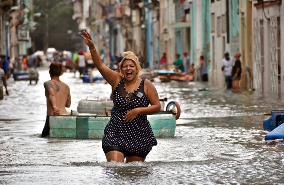 Cuba is a state of mind, that is to say, a hurricane, music and rum.