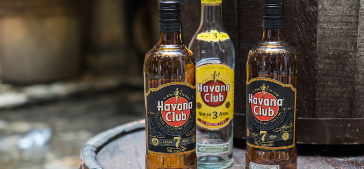Cuban rum and traditional  drinks
