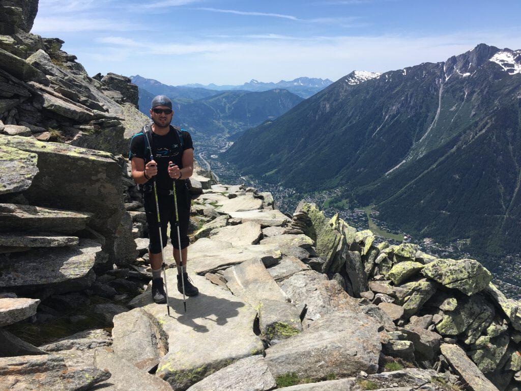 Sombras del mont blanc y … derritiendo glaciares